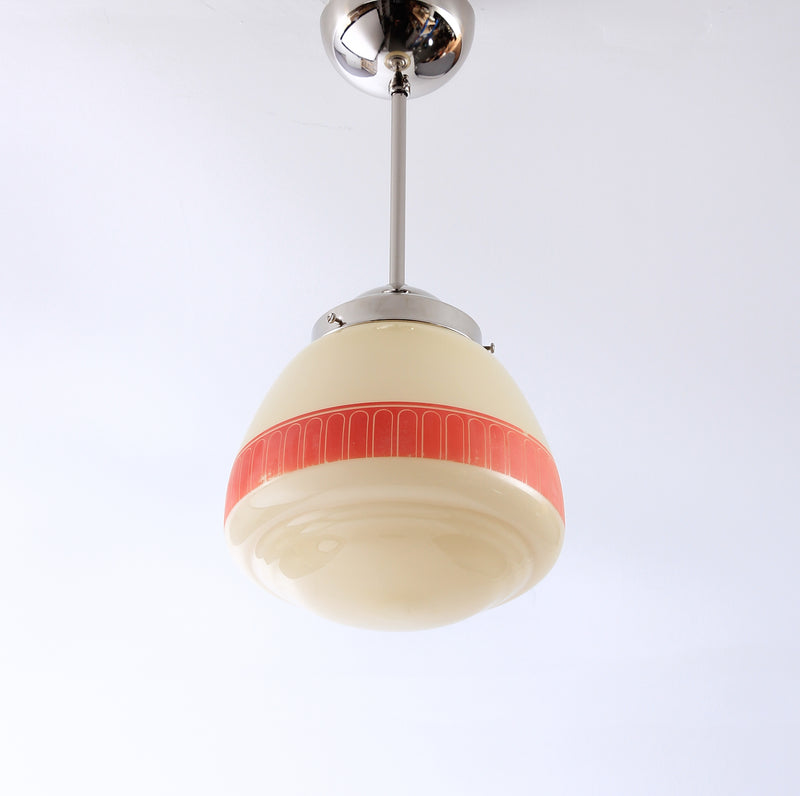 Pendant lamp 1940s Red Bård P53