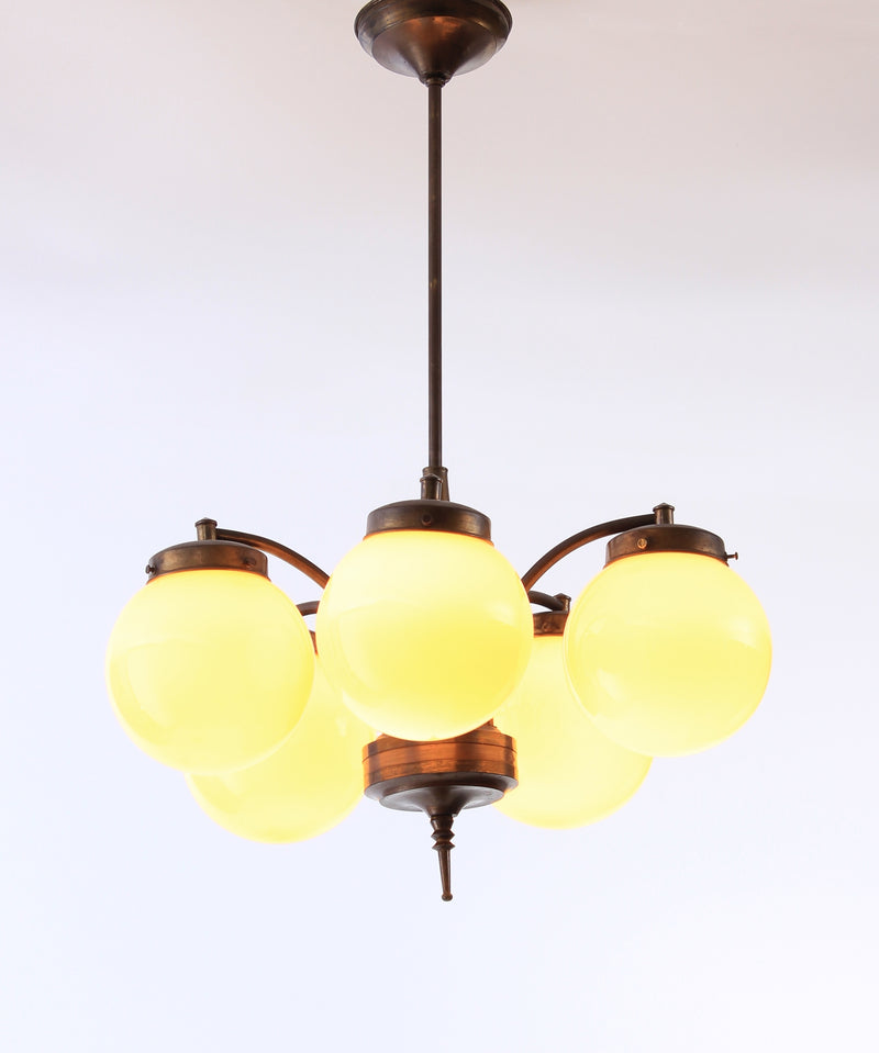 Ceiling lamp 1920-30s A315