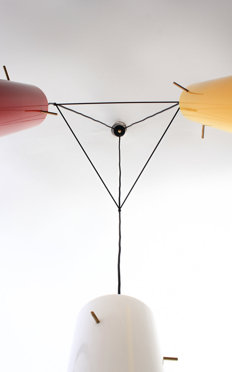 Ceiling light Italy 1950s A184