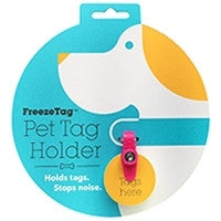 Freeze Tag Pet Tag Holder