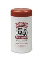 Nature's Miracle-Pet Wipes  70 ct