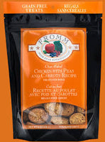 Fromm Four-Star Chicken with Peas & Carrots Oven Baked Dog Treats, 8-Ounce Bag