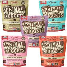 Primal Freeze Dried Raw Nuggets