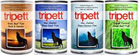 Tripett Dog Food Can