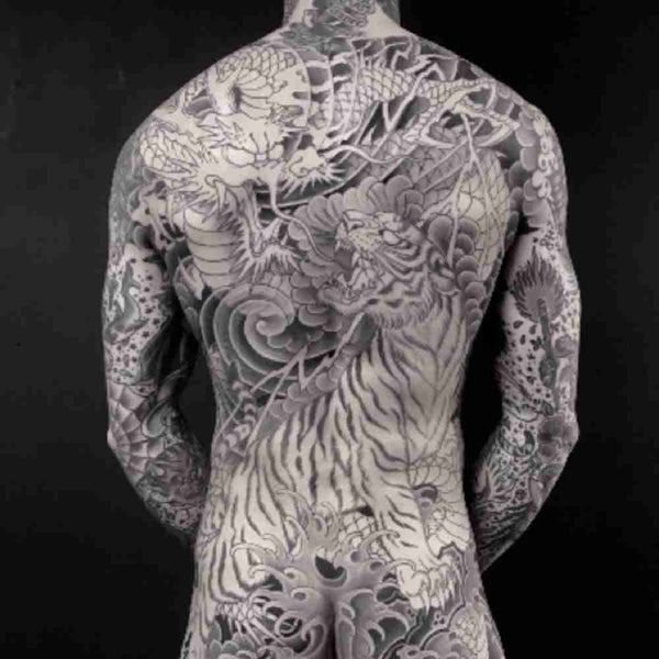 traditional japanese back tattoo