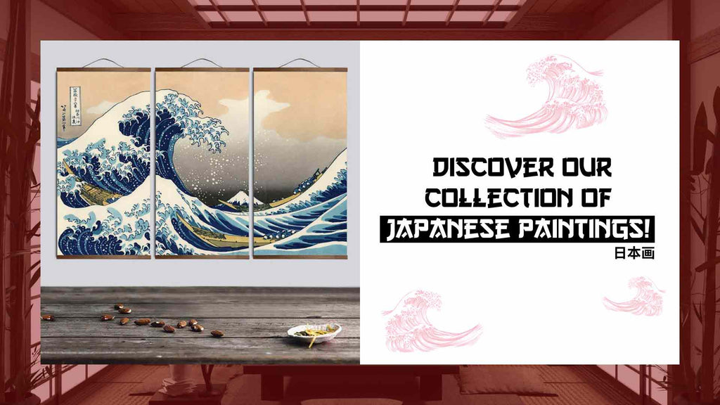 Japanese painting store
