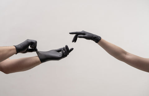 Touch Rubber Gloves