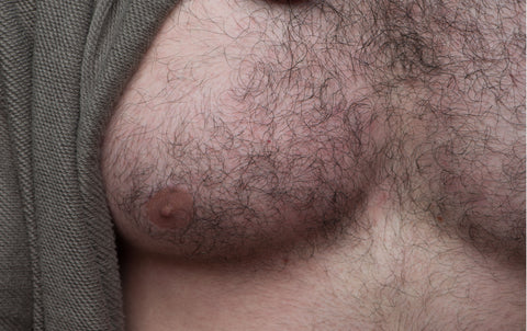 Hairy Chest - Nipple