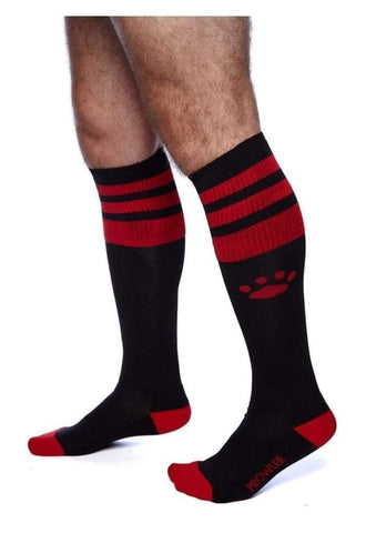 Prowler Red - Football Socks - Black/Red