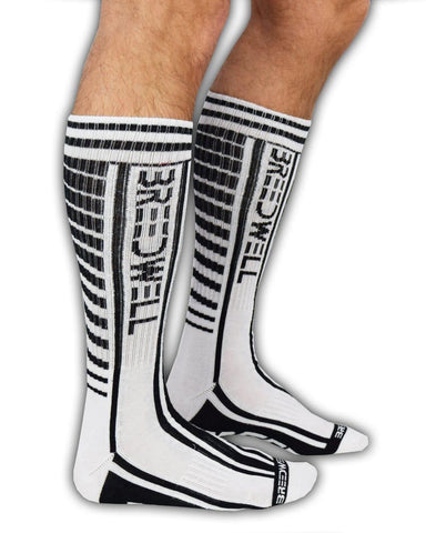 Breedwell - Moto Breed Socks - White