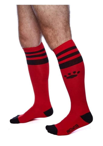 Prowler Red - Football Socks - Red/Black