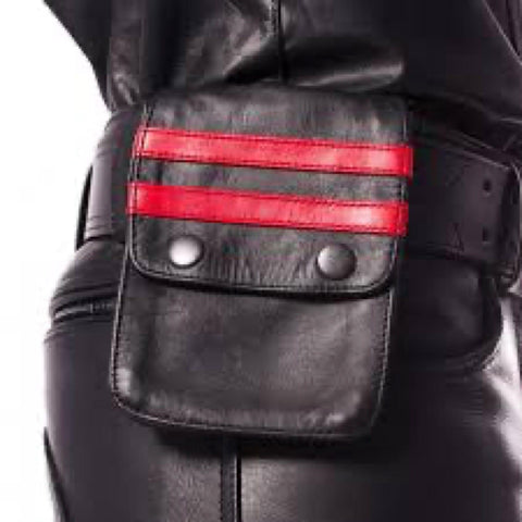 Prowler Red - Pouch Wallet - Leather - Red