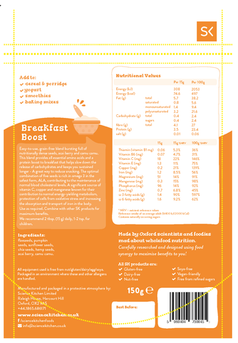 Super food blend - Breakfast Boost