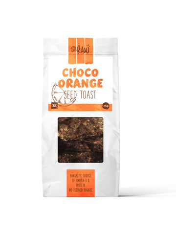 Seed Toasts - Choco-Orange