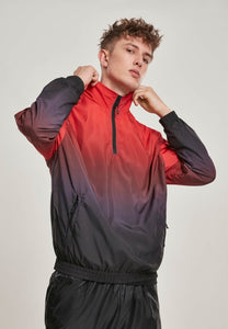 You added <b><u>Gradient Pull Over Jacket - Black-Red</u></b> tilføjet til kurven.