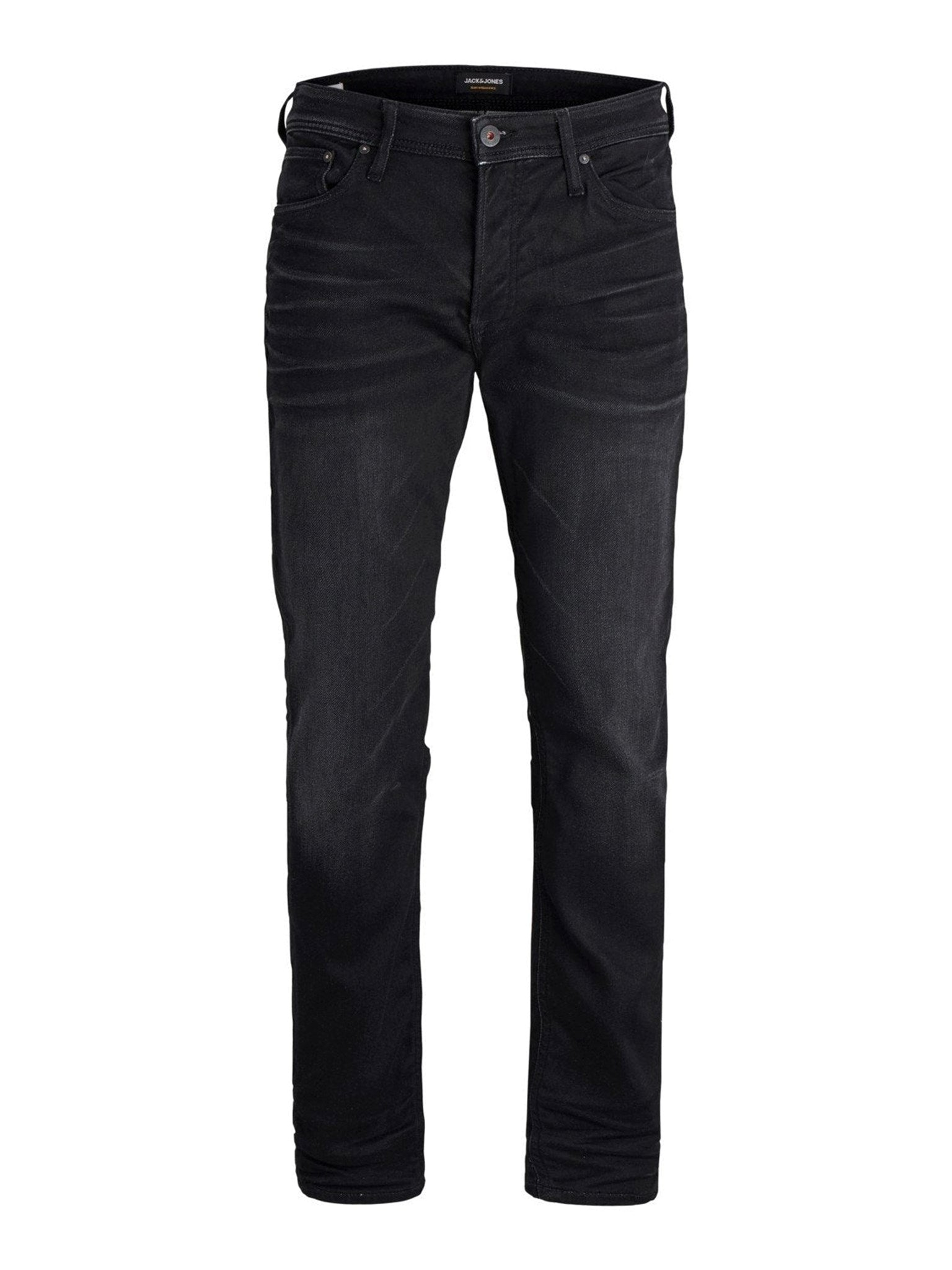 Mike Stretch Jeans - Sort
