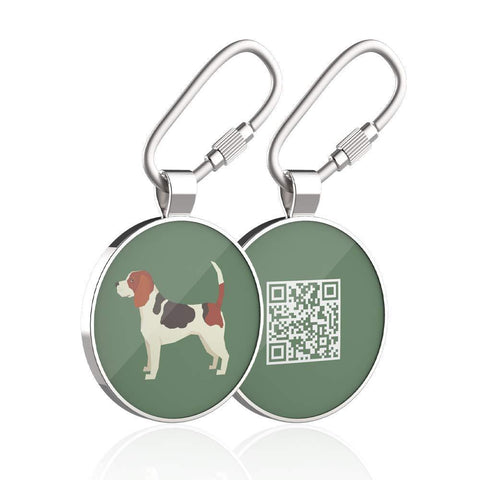 Buy the Service Dog QR Code Tags - Wildog