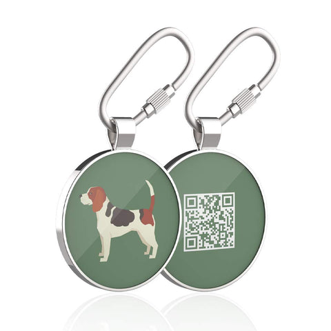 Buy the Scannable Service Dog Tag - Wildog