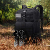 Buy the Black 42L Best Camping Backpack - Wildog