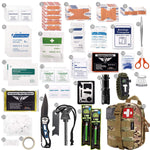 250 Piece Survival Kit - Available In Multiple Colors