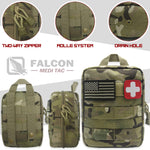 200 Piece Survival Kit - Tan/Black/Multicam