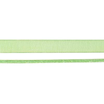 10mm Cucumber Italian Dolce Flat Leather - Goody Beads