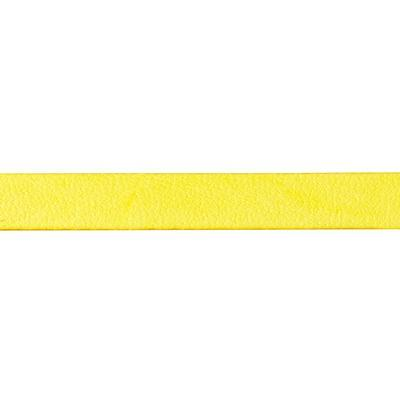5mm Lemon Italian Dolce Flat Leather - Goody Beads