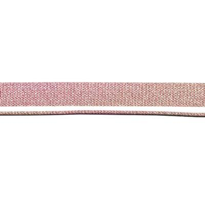 10mm Cherry Blossom Iridescent Fabric Flat Leather - Goody Beads