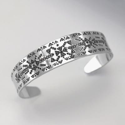 5/8 x 6 Inches Tapered Bracelet Aluminum Stamping Blank - Goody Beads
