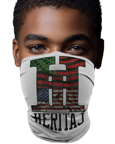 AFRICAN AMERICAN-ACTIVITY MASK (UNISEX)
