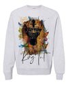 KING TUT-ABSTRACT BRUSH-SWEATER