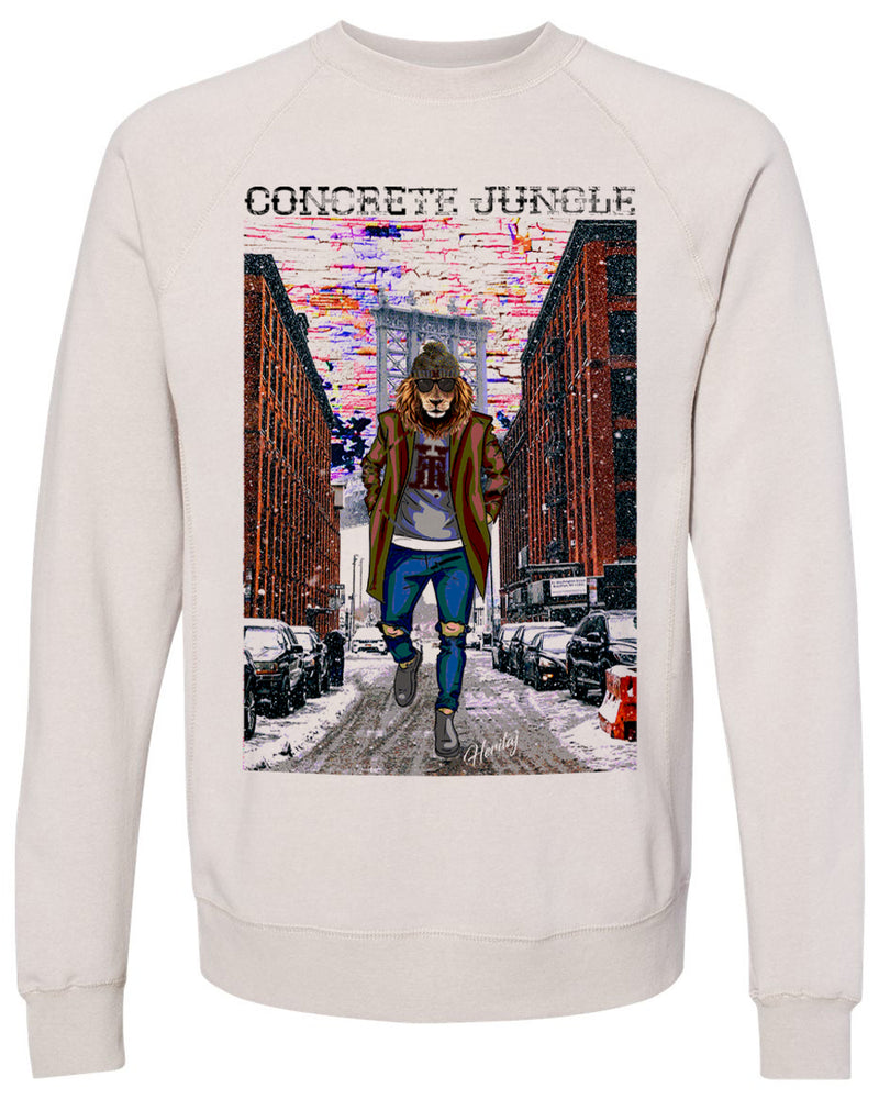 COURAGE-CONCRETE JUNGLE-SWEATER