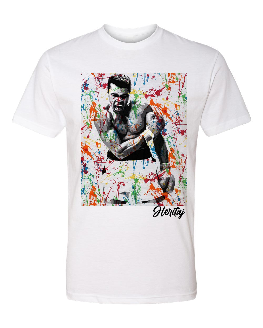 ALI-ABSTRACT SPLATTER