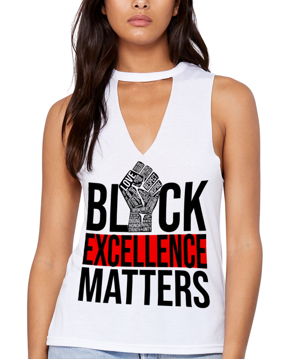 EXCELLENCE DRIVEN-CUT OUT V-TANK