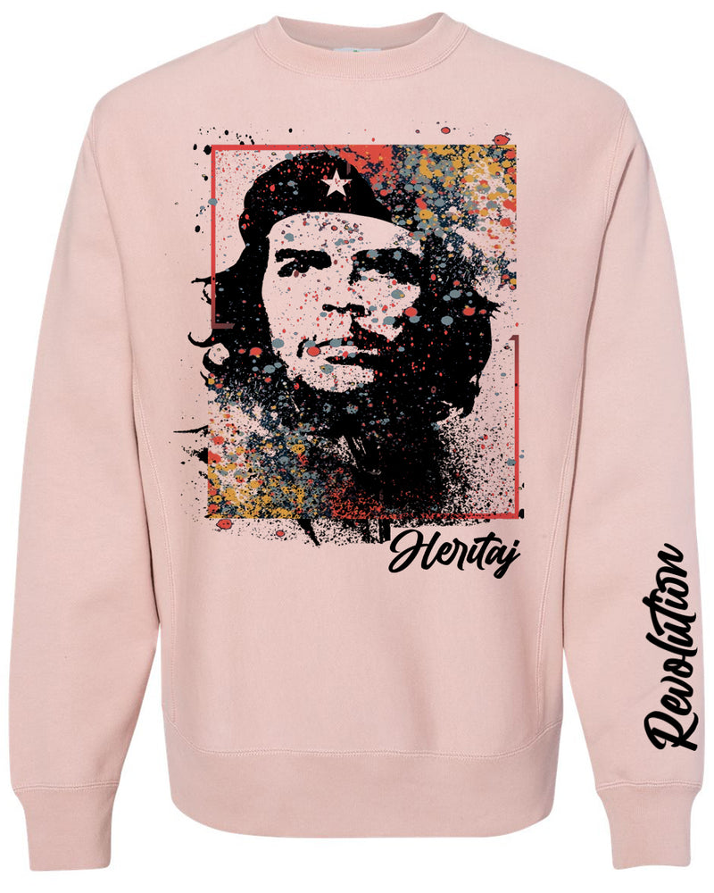 CHE (REVOLUTION)-ABSTRACT-HEAVYWEIGHT SWEATER