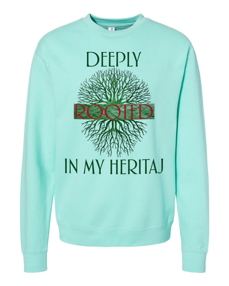 DEEPLY ROOTED HERITAJ- SWEATER