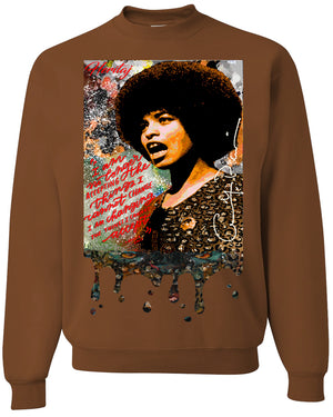 "ANGELA DAVIS ""EXPRESSION""-SWEATER"