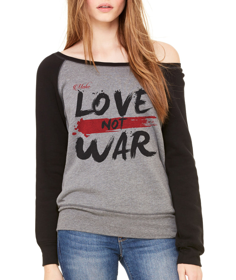 LOVE & WAR-RAGLAN