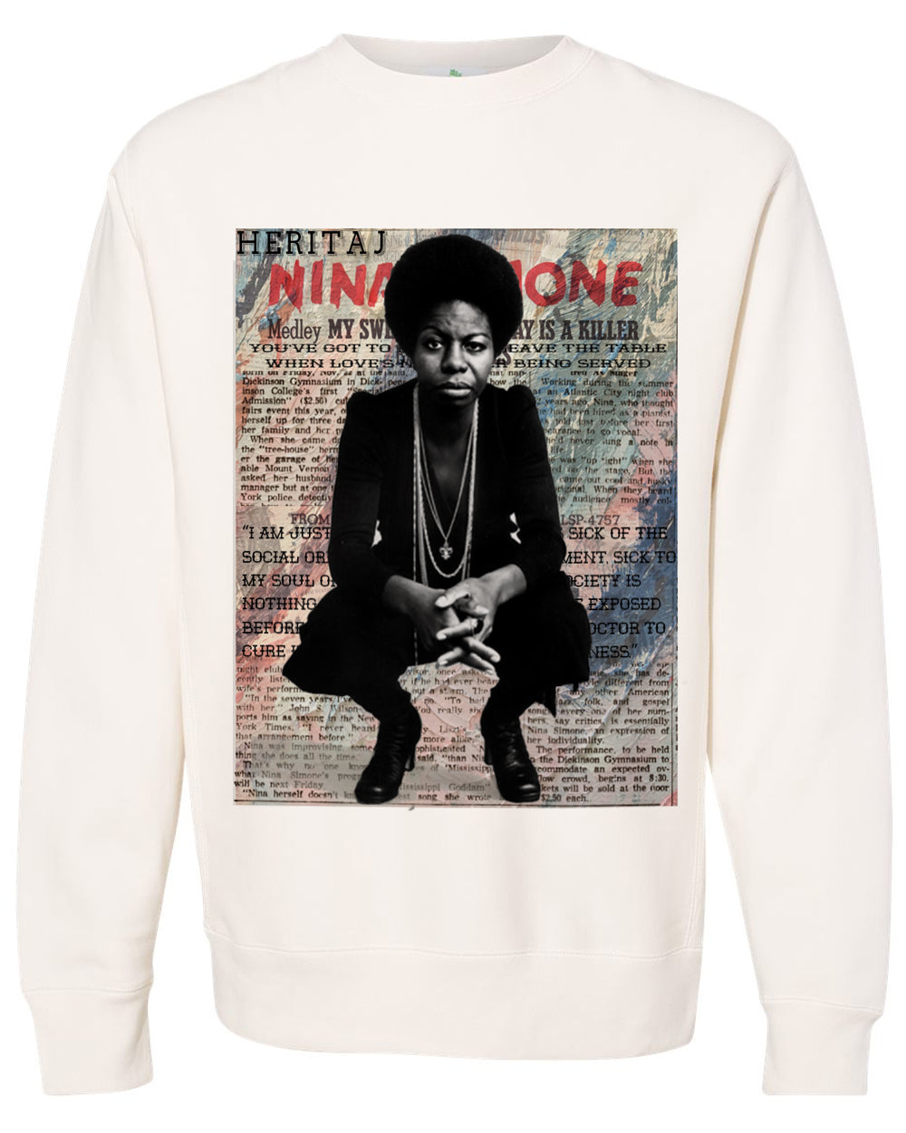 NINA SIMONE-HEAVYWEIGHT SWEATER