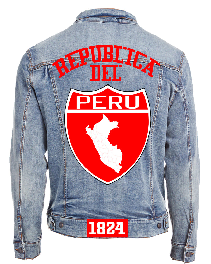 PERU-DENIM JACKET (UNISEX)