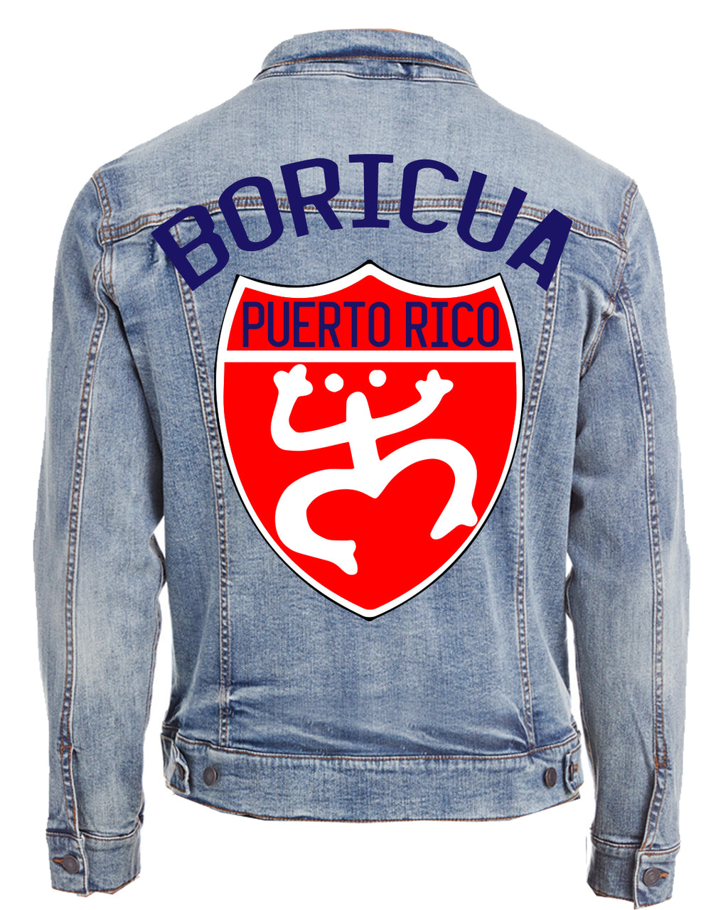 PUERTO RICO-DENIM JACKET (UNISEX)