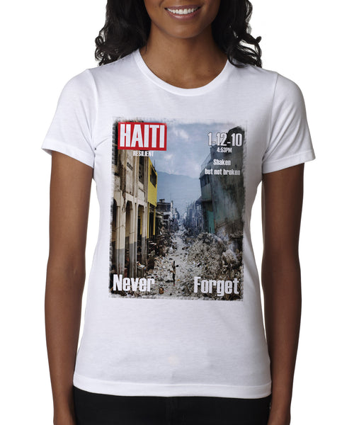 "HAITI-""SHAKEN NOT BROKEN"""