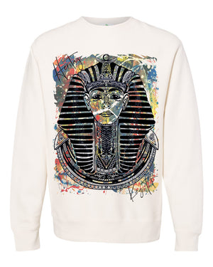 SPHINX-ABSTRACT-HEAVYWEIGHT SWEATER