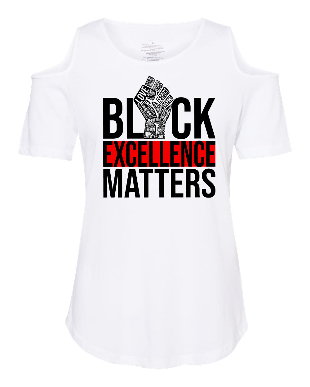 EXCELLENCE DRIVEN-COLD SHOULDER