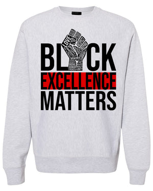 EXCELLENCE DRIVEN-HEAVYWEIGHT SWEATER