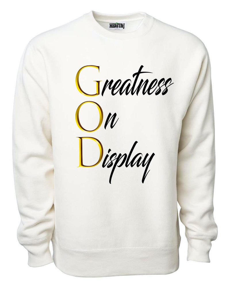 GOLDEN-G.O.D-HEAVYWEIGHT SWEATER