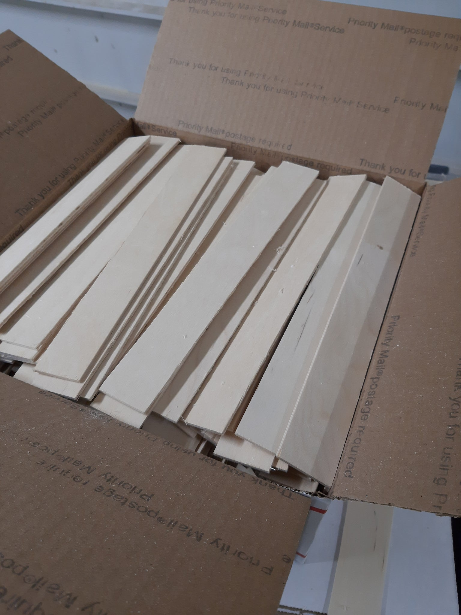 "1/8"" Baltic Birch cut offs                  1 1/2"" x 11 3/4"