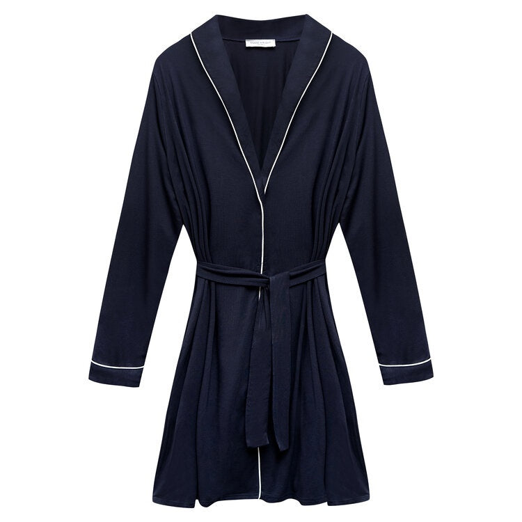 Made Wright London Robe 2023 Navy