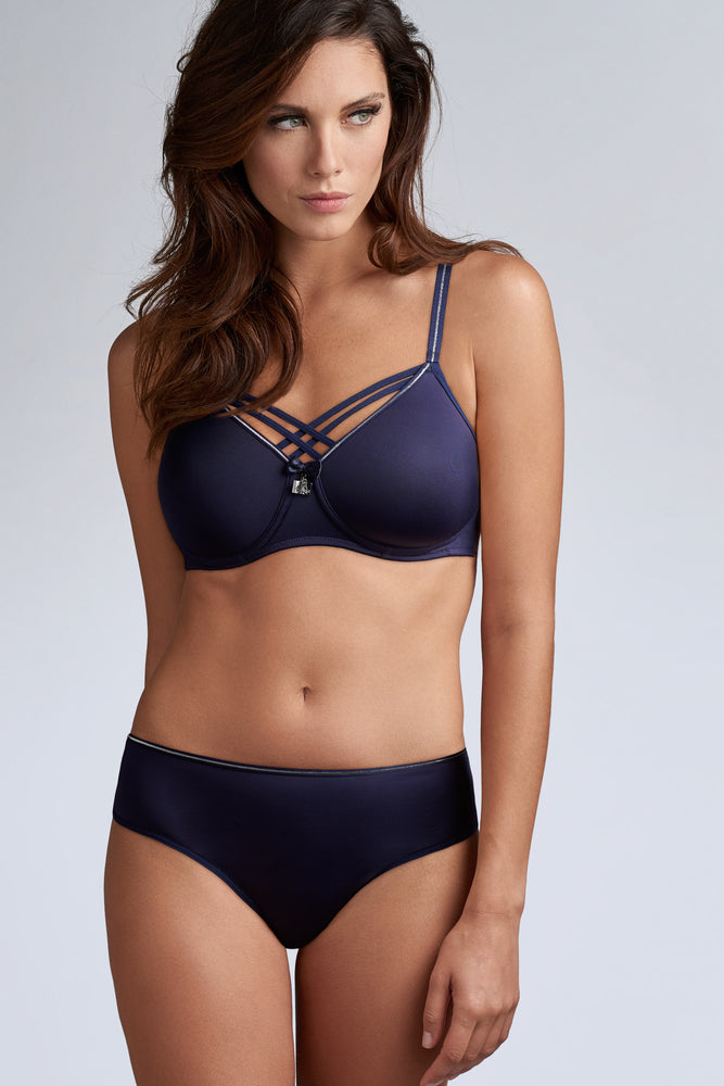 Marlies Dekkers Dame De Paris Brazilian Brief 35113 Night Sky Blue
