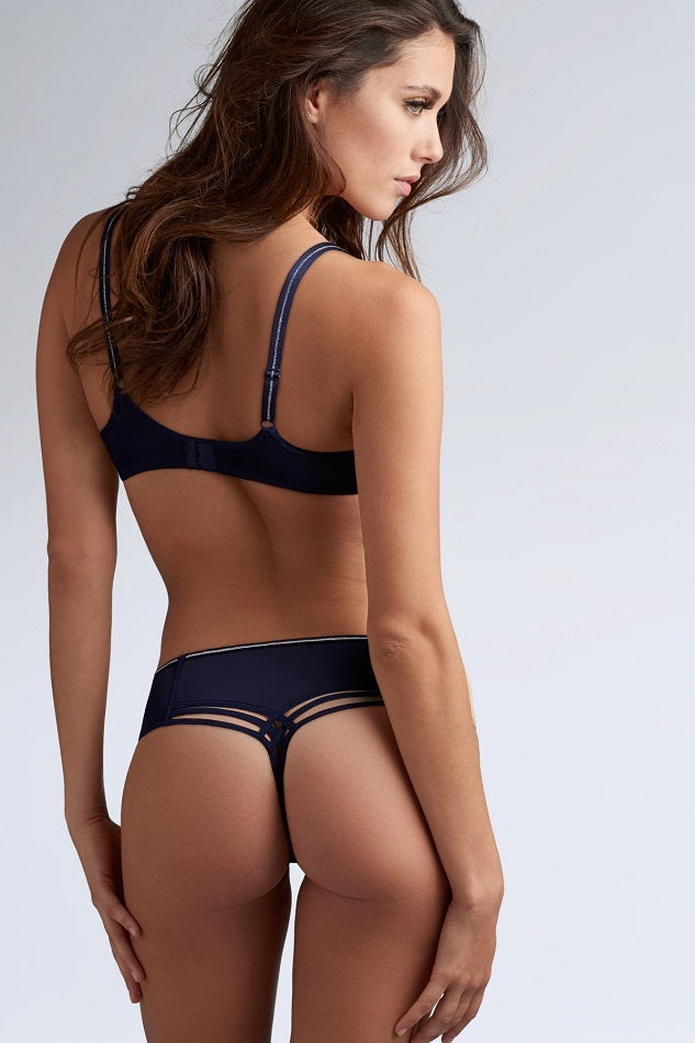 Marlies Dekkers Dame de Paris String 35112 Night Sky Blue